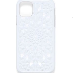 Felony Case white 3D kaleidoscope iPhone 11 case